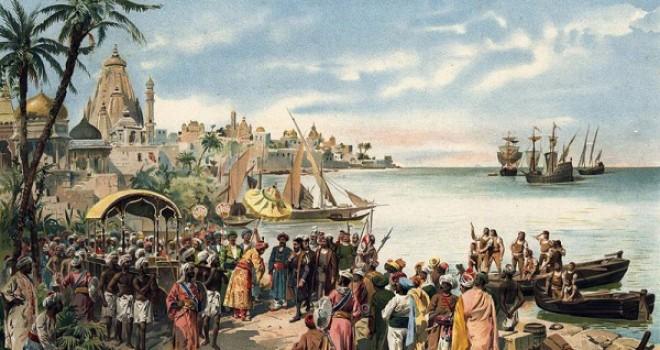 Vasco da Gama, Arrival in India 1498