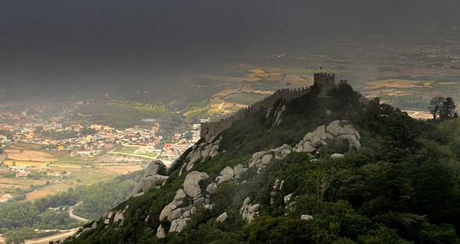 The Castel fo the Moors, Sintra