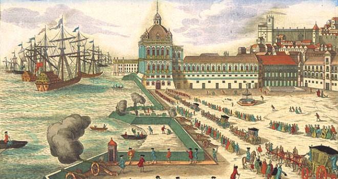 Lisbon Downtown, Before The Earthquake 1755
