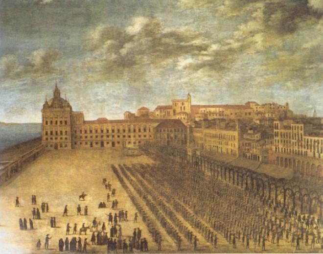 Terreiro do Paço, Lisbon before the Earthquake 1755